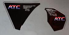 1985 85' 1986 86' honda 2pc ATC 350X Maier Chain fender decals sticker graphic