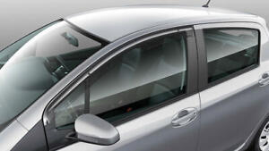 Genuine Toyota Yaris 5Dr Hatch Weathershield RH Jul 2014 Onwards PZQ23-52070
