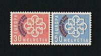 SWITZERLAND 1959 - EUROPA-CEPT. PTT Conference overprint set. MNH. €40