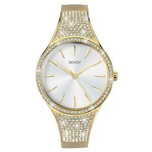 SEKSY Quartz Movement Silver Dial Steel Bracelet Ladies Watch 2715 RRP £119
