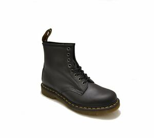 Men's Shoes Dr. Martens 1460 8 Eye Leather Boots 11822002 BLACK NAPPA