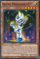 Silent Magician LV4 Common  Yugioh Card YGLD-ENC05