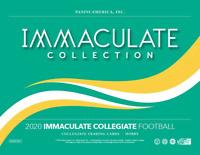 2020 Panini Immaculate Collegiate Football Hobby Box NEW SEALED