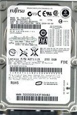 Fujitsu MHZ2250CJ G1 P/N: CA07062-B428000L 250GB DATE: 2009-09-09