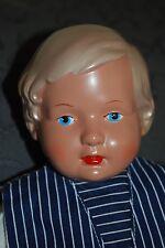 Schildkröt Puppe, SIR, Repro einer Brustblattpuppe, 32 cm, orig. Kleidung TOP