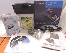 Polaroid Z340 14.0MP Digital Camera +Box, Manual, AC Adapter & 5 pks Film TESTED