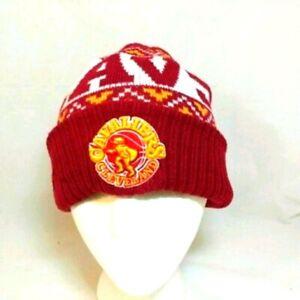 Cleveland Cavaliers Maroon Knit Ski Winter Beanie Hat Cap