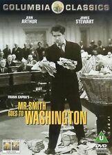 Mr Smith Goes To Washington DVD James Stewart Jean Original UK Rel New Sealed R2