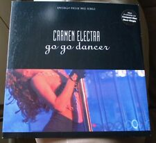 "Carmen Electra Go Go Dancer 12"" Single Lp 1992 Cheesecake Pinup Cover Sexy"