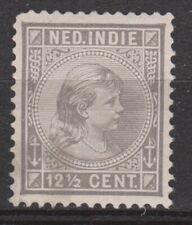Nederlands Indie Netherlands Indies Indonesie 24 MLH Wilhelmina 1892 No Gum