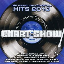 Die Ultimative Chartshow - Hits 2010 - 2 CD NEU Unheilig Lady Gaga Rihanna