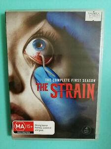 The Strain Complete First Season DVD MA15+ R4 4 disc set VGC