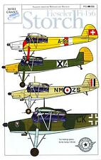 Mike Grant Decals 1/48 FIESELER Fi-156 STORCH German WWII Liaison Plane