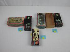 Vintage Coffin & Skeleton Wind Up Bank Yone Japan 1960's & Satan's Bank Lot of 3