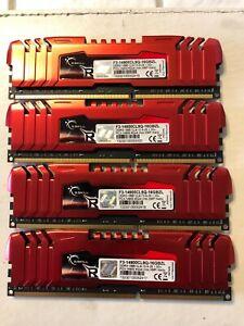 G.Skill Rip Jaw F3-14900CL9Q16GBZL DDR3 4x4GB SDRAM 1866 MHz matched set