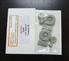 AMS Resin 1/32 A-6E Wheels for Trumpeter kit