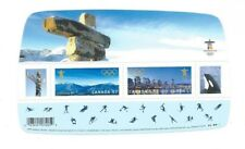 CANADA STAMPS VANCOUVER & WHISTLER WINTER OLYMPIC GAMES 2010  *MNH
