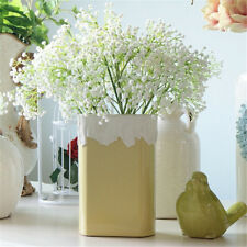White Gypsophila Artificial Plastic Flowers Hotel Party Home Wedding Decorations