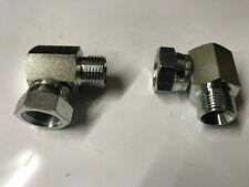 Night /& Hillman BSP MacHo X BSP Giratorio Hembra 45 ° Forjado Compacto Ebow Adaptador
