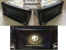 VW Radio GPS Rns 510 Led 7E0035680B T5 Touareg Cards 2018 V15 7e0035680