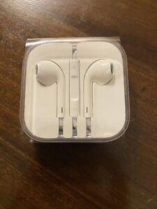 NEW Genuine Apple iPhone 5 5s 6 6s Plus Earphones Earpods Earbuds 3.5mm