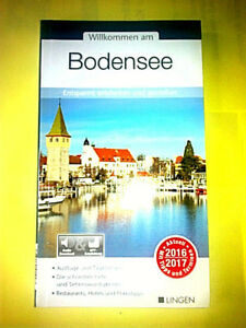 BODENSEE-Reiseführer, auf 99 Seiten, umfassende Ausgabe 2016/2017