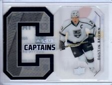 2014-15 Upper Deck Clearcut Captains #CCC-DB Dustin Brown #098/100