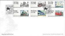 GB 2016 Post & Go FDC Heritage transport stampex Ladybirds Locomotive RM 500