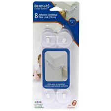 Perma Child Safety Adhesive Universal Flexi Locks 18cm - 8 Pack