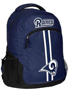 NFL Los Angeles Rams Logo Action Backpack ( School, Work,Travel)