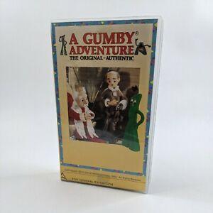 A Gumby Adventure VHS Volume 3 Children's Classic the original authentic