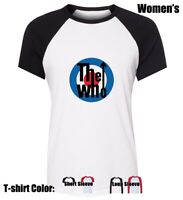 The Who MODS Graphic Womens Ladies Girl's Cotton Blend Cotton T-Shirt Tops