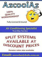 *INSTALLED* PANASONIC 2.5 KW SPLIT SYSTEM AIR CONDITIONER *REVERSE CYLE