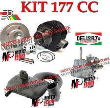 KIT MODIFICA 177 CILINDRO DR CARBURATORE DELLORTO 24 MARMITTA ROAD VESPA PX 125
