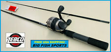 ZEBCO 33 SPINCAST 6' Fishing Combo Rod and Reel NEW! #33602MA FREE USA SHIPPING!