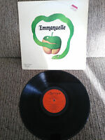 "EMMANUELLE SOUNDTRACK OST 12"" VINYL LP VINLO G+/VG SPANISH EDIT 1975 OLYMPO"