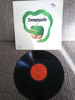 "Emmanuelle Soundtrack Ost 12 "" Vinyl LP Vinlo G VG Spanish Edit 1975 Olympo"