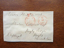 SIR MILES NIGHTINGALL - COMMANDER OF THE BOMBAY ARMY - SIGNED ENVELOPE FRONT