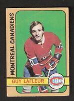 1972-73 OPC O-Pee-Chee GUY LAFLEUR #59 Good Hockey Montreal Canadiens HOF
