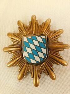 Polizei Bayern Mützenstern Mützenabzeichen alte Art