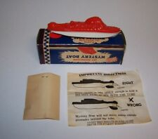 Vintage Jet Propulsion Mystery Boat Plastic Toy by Irwin 1950's