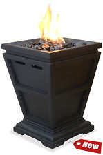 Outdoor Fire Pit Garden Backyard Patio Fireplace Portable Heater LP Gas Tabletop