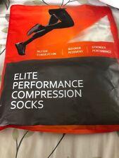 Elite Performance Compression Socks L/XL