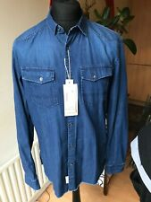 Tom Tailor New blue denim Shirt size Large new with Label