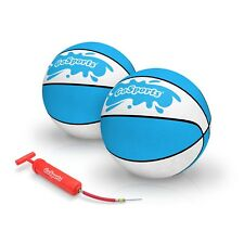 GoSports Water Basketball 2 Pack | Size 6 | Swimming Toy Pool Hoops