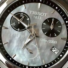 TISSOT T008.217.11.121.00 PRC100 CHRONO; BOX & PAPERS