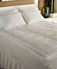 "Blue Ridge King Featherbed 5"" Gusseted Feather Down 233 Tc Cotton J01094"