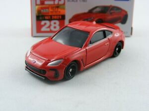 Subaru BRZ in rot (limited color), Takara Tomy Tomica #28,1/60