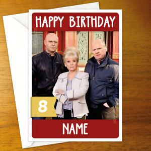 EASTENDERS Personalised Birthday Card - peggy phil grant mitchell barbara ross