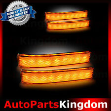 09-14 FORD F150 Mirror Running Light+Turn Lights LED+AMBER Lens Replacement Set